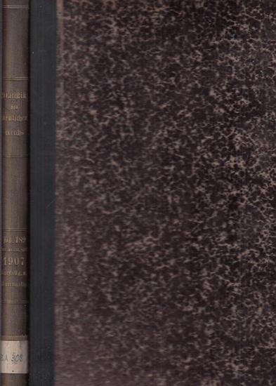 Statistik des Deutschen Reichs. / Kaiserliches Statistisches Amt. - Auswärtiger Handel im Jahre 1907 - Darstellung nach Warengattungen
