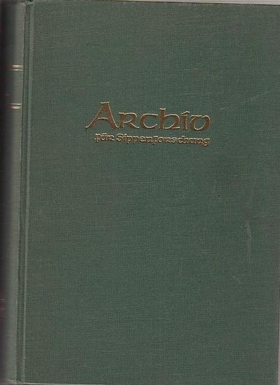 Kretschmer, Hans (Schriftltg.): Archiv für Sippenforschung mit praktischer Forschungshilfe. 31. und 32. Jahrgang 1965 - 1966 komplett mit den Heften 17 - 24.