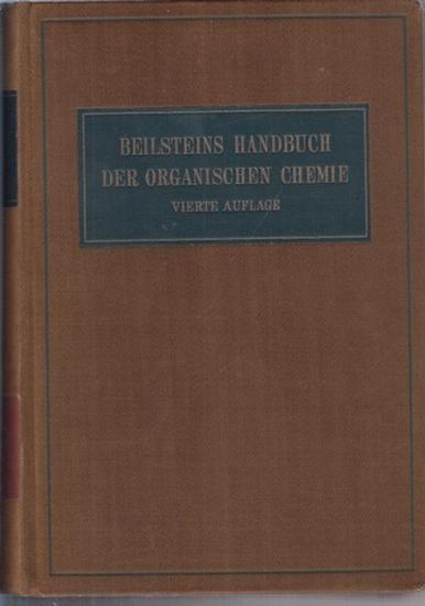 Richter, Friedrich (Bearb.): Beilsteins Handbuch der Organischen Chemie. 29. Band, Erster Teil: General-Formelregister für die Bände I - XXVII des Hauptwerks und ersten Ergänzungswerks. C.1 - C.13.