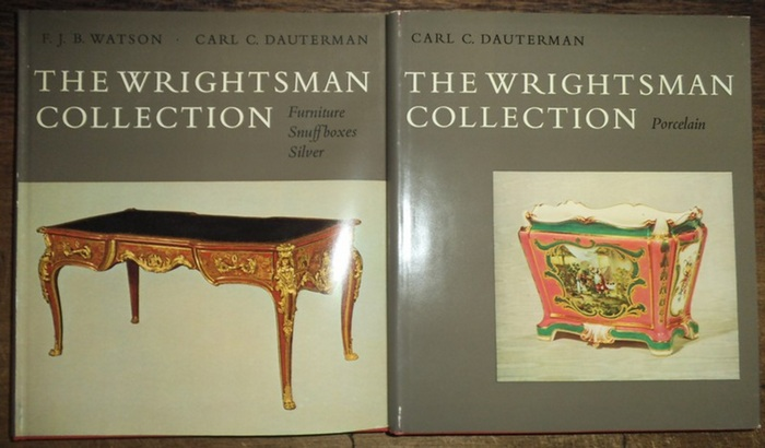 Wrightsman Collection. - Watson, F.J.B. ; Dautermann, Carl Christian: The Wrightsman Collection. Bd. III & IV. Volume III: Watson, F.J.B: Furniture, Snuff Boxes, Silver, Bookbindings. Volume IV: Porcelain by Carl Christian Dauterman.