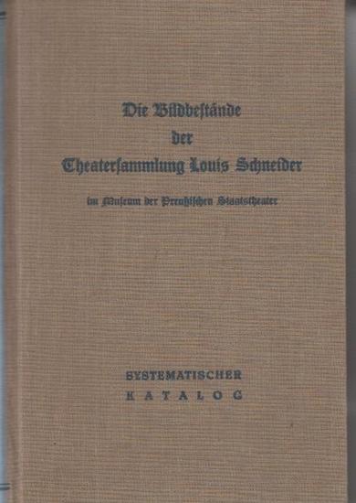 Badenhausen, Rolf (Hrsg:): Die Bildbestände der Theatersammlung Louis Schneider im Museum der Preußischen Staatstheater Berlin. Systematischer Katalog. (=Schriften der Gesellschaft für Theatergeschichte ; Band 50).