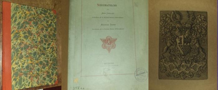 Grellet, Jean / Maurice Tripet: Les Ex-Libris Neuchatelois.