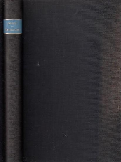 Menge, Hermann: Materialien zur Erlernung und Wiederholung der lateinischen Grammatik : Für Schule und Selbstunterricht. Erste und zweite Hälfte. Durchgesehen und überarbeitet von E. Krause.