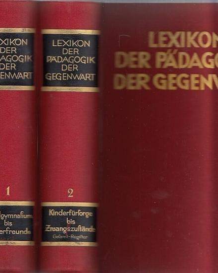 Spieler, Josef - Deutsches Institut für wissenschaftliche Pädagogik, Münster in Westfalen (Hrsg.): Lexikon der Pädagogik der Gegenwart. Komplett in zwei Bänden (Abendgymnasium - Kinderfreunde und Kinderfürsorge - Zwangszustände).