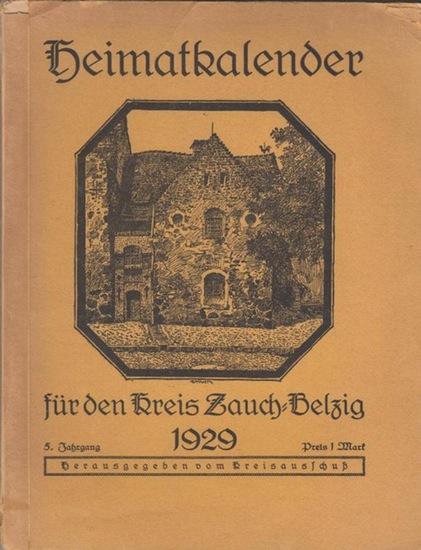 Belzig. - Kreisausschuss Zauch-Belzig (Hrsg.): Heimatkalender für den Kreis Zauch-Belzig 1929. 5. Jahrgang.
