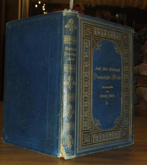 Niebergall, Ernst Elias. - Georg Fuchs (Herausgeber): Dramatische Werke ( Des Burschen Heimkehr oder der Tolle Hund. Datterich.). Hrsg. v. Georg Fuchs.