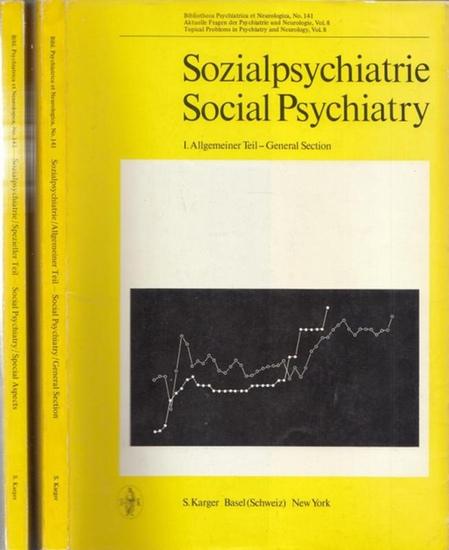 Petrilowitsch, N. / Flegel, H. / Grünthal, E. (Hrsg.): Sozialpsychiatrie. Social Psychiatry. Teil I und Teil II. 1. Allgemeiner Teil - General Section / 2. Spezieller Teil. Special aspects. (= Aktuelle Fragen der Psychiatrie und Neurologie Vol. 8 und 9).