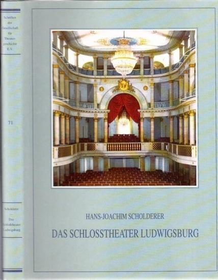 Scholderer, Hans-Joachim: Das Schloßtheater Ludwigsburg : Geschichte, Architektur, Bühnentechnik, mit einer Rekonstruktion der historischen Bühnenmaschinerie. (=Schriften der Gesellschaft für Theatergeschichte e.V. ; Band 71).