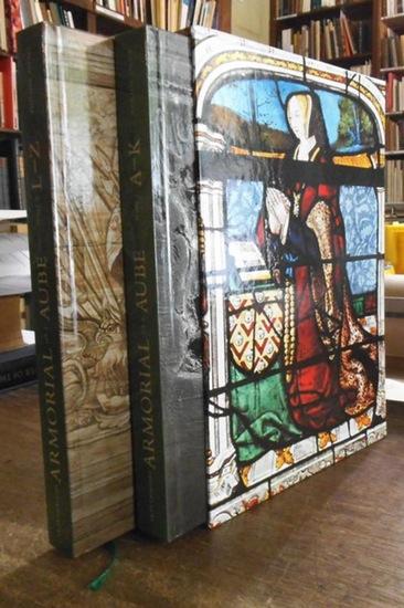 Palasi, Philippe: Armorial historique et monumental de l ' Aube XIIIe - XIXe siecle. 2 tomes A-K / L-Z.