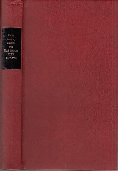 Bourke, John Gregory: Das Buch des Unrats. Mit einem Geleitwort von Sigmund Freud. Bearbeitet und einem Essay von L.Kaplan. Aus dem Amerikanischen von F. S. Krauss / H. Ihm.