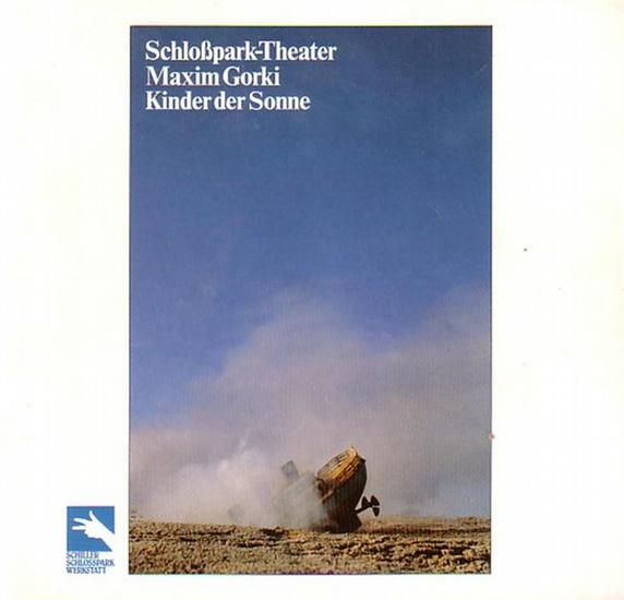 Berlin - Staatliche Schauspielbühnen -Boy Gobert- Intendanz (Hrsg.) Programmhefte des Schloßparktheaters Berlin, Spielzeit 1983 / 1984.