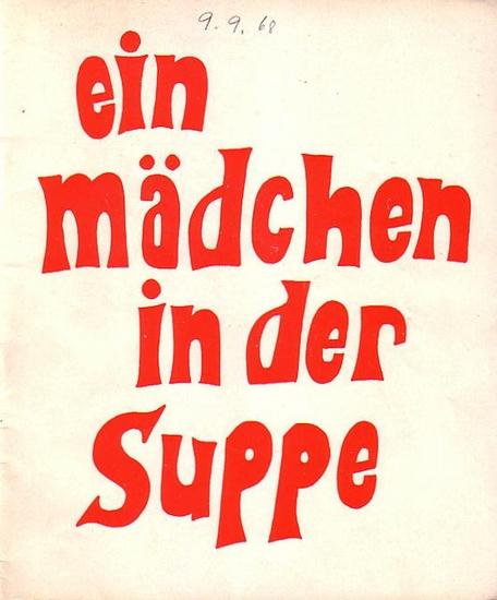 Berlin. Theater und Komödie am Kurfürstendamm - Hans Wölffer - Direktion (Hrsg.) Programmheft der Komödie am Kurfürstensdamm. Spielzeit 1967 / 1968.