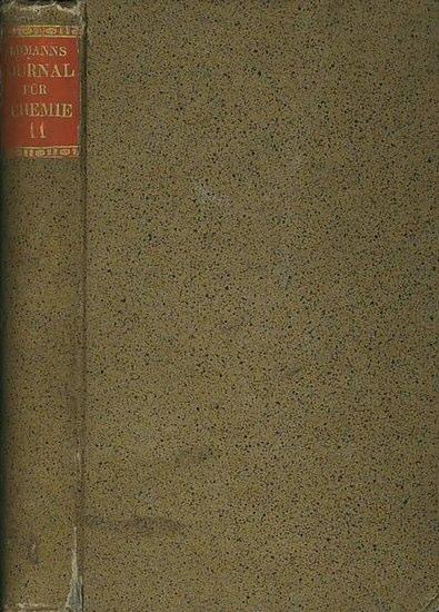 Erdmann, Otto Linné (Herausgeber): Journal für praktische Chemie. Band 11, Jahrgang 1837 - Band 2 (Heft 1: Organische Chemie, Heft 2: Metalle, Heft 3: Mineralogie, Heft 4: Gerichtliche Chemie, Heft 5: Organische Chemie, Heft 6: Metallurgie, Heft 7: Org...