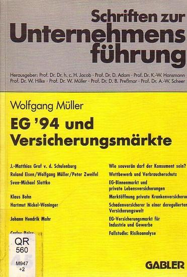 Müller, Wolfgang (Hrsg.): EG 94 und Versicherungsmärkte.