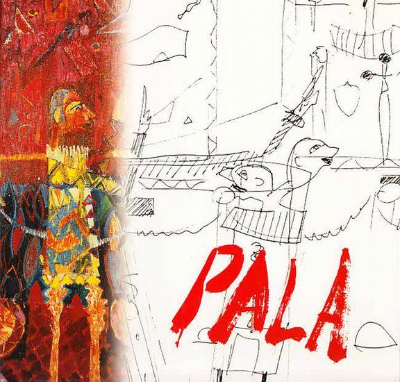 Pala, Dariusz. - Wim J. A. van den Heuvel (Editor):: Dariusz Pala Drawings, Paintings, Sculptures. Foreword: Vesna Hrvatov und Editor Wim van den Heuvel. Katalog.