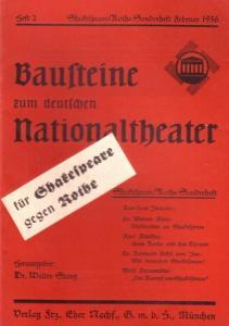 Seiten 33 - 68 der fortlaufenden Jahrgangs-Paginierung. Rotes Originalheft. 8°. Gut erhalten.