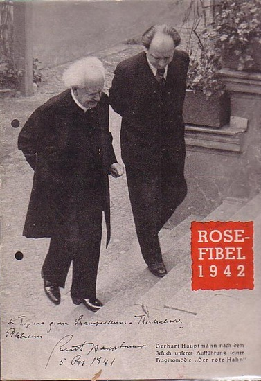 Rose, Paul / Schriftleiter: Rose - Fibel 1942 (mit dem Wegweiser (Spielplan) durch den Rose - Spielplan 1942 / 43).