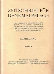 hellbrauner Oktn, 30 x 23 cm, S. 133 - 164 der durchg. Jahrespag, zahlreiche s/w Abbildungen und einige s/w Illustrationen im Textbereich, gutes und sauberes Exemplar