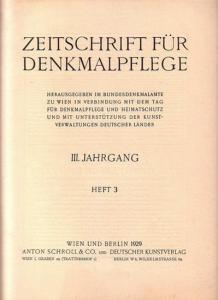 hellbrauner Oktn, 30 x 23 cm, S. 73 - 104 der durchg. Jahrespag, zahlreiche s/w Abbildungen und einige s/w Illustrationen im Textbereich, gutes und sauberes Exemplar