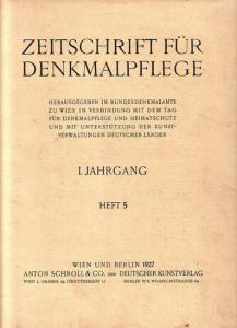Komplett mit den Seiten 121 - 152 und den Abbildungen 119 - 141 sowie 2 Blatt mit Anzeigen. Helle Original - Broschur. 29,5 x 23 cm. Einband etwas fleckig. Gut erhalten.
