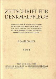 Komplett mit den Seiten 33 - 64 und den Abbildungen 31 - 49. Helle Original - Broschur. 29,5 x 23 cm. Einband etwas fleckig. Gut erhalten.