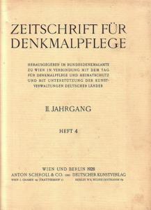 Komplett mit den Seiten 97 - 132 und den Abbildungen 75 - 110. Helle Original - Broschur. 29,5 x 23 cm. Einband etwas fleckig. Gut erhalten.