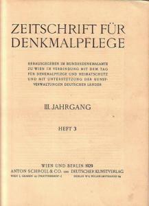 Komplett mit den Seiten 73 - 104 und den Abbildungen 82 - 113. Helle Original - Broschur. 29,5 x 23 cm. Einband etwas fleckig. Gut erhalten.
