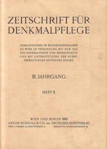 Komplett mit den Seiten 137 - 168 und den Abbildungen 146 - 167. Helle Original - Broschur. 29,5 x 23 cm. Einband etwas fleckig. Gut erhalten.