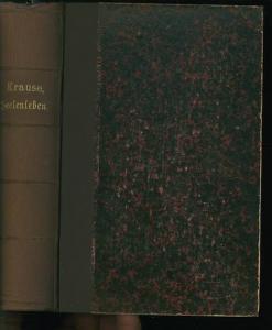 8°. Zwei Bände in einem Buch mit 288, 391 Seiten. Goldgeprägter Originalhalbleinenband, guter Zustand.