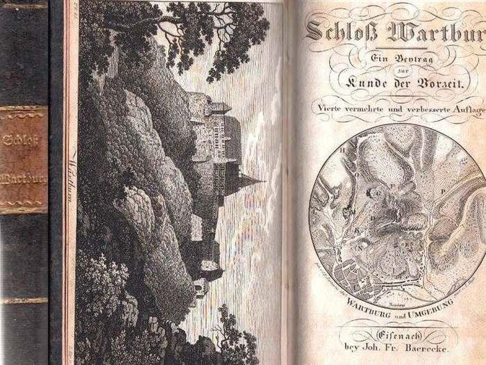 Thon, Joh. Carl Salomo: Schloß Wartburg. Ein Beytrag zur Kunde der Vorzeit.