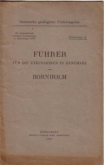 Boggild, O. B. und Chr. Poulsen und K. Callisen: Führer für die Exkursionen in Dänemark: Bornholm. Die Internationale Geologen-Versammlung zu Kopenhagen 1928. (= Danmarks geologiske Undersogelse, Exkursion A