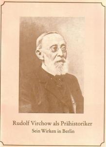 26 x 19 cm. Originalbroschur mit Bildnis des 80jährigen Virchow. 32 Seiten mit 19 Abbildungen. Gutes Exemplar.