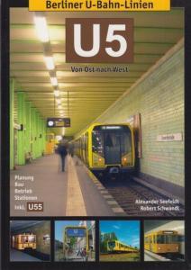 24 x 17 cm. OriginalBroschur mit illustriertem Einband. 110 Seiten mit zahlreichen Farbphotos und einem Plan der Berliner U-Bahnlinien. Gutes Exemplar.