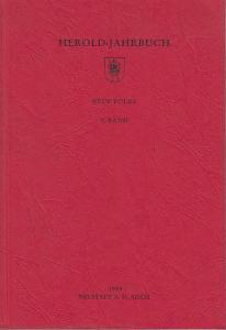 Herold. - Bahl, Peter und Henning, Eckart (Hrsg.): Herold-Jahrbuch, Neue Folge 4. Band.