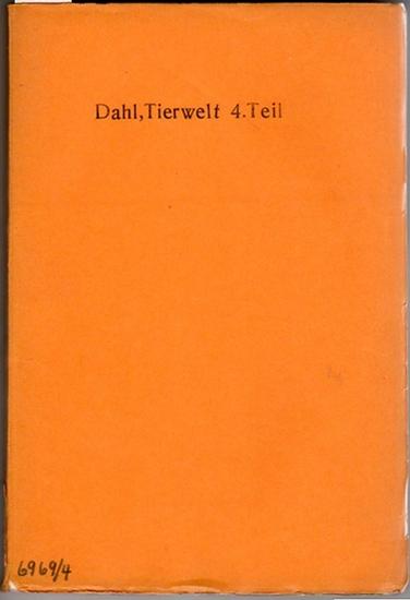 Dahl, Friedrich: Porifera-Coelenterata-Echinodermata // Arndt, Walther: Porifera (Schwämme, Spongien). Mit 110 Abbildungen im Text. // Broch, Hjalmar: Hydrozoa. Mit 62 Abbildungen im Text. // Krumbach, Thilo: Scyphozoa. Mit 26 Abbildungen im Text. // P...