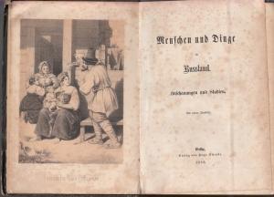 [ Schönbein, Christian Friedrich (anonym)]: Menschen und Dinge in Russland. Anschauungen und Studien.