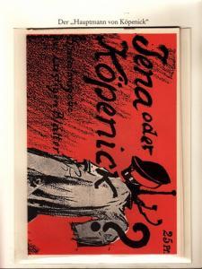 Berlin-Archiv. - BerlinArchiv (Hrsg.v. Hans-Werner Klünner und Helmut Börsch-Supan): Lieferung BE 01055 - Jena oder Köpenick? Spezialausgabe der 'Lustigen Blätter' vom Oktober 1906.