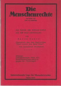 Originalbroschur, 8° , 41 / 2 Seiten, gut.