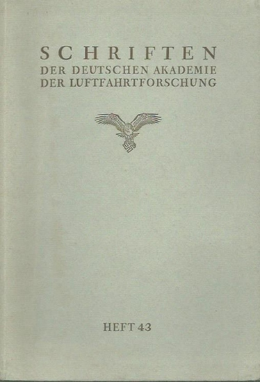 Benzinger, Theodor: Wissenschaftliche Grundlagen der Prüfung auf Höhenfestigkeit mittels Atmung definierter Gasgemische. (= Schriften der Deutschen Akademie der Luftfahrtforschung. Heft 43).