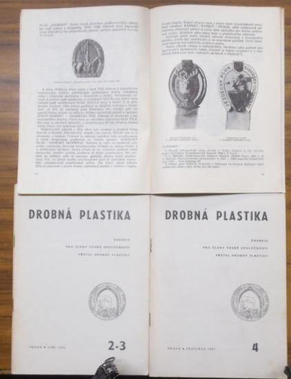 Drobna Plastika. - Rudolf Braun / Stanislav Malek (redaktor). - Drobna Plastika. témer kompletní následná 1964 - 1978. Soucástí (Fast komplette Folge): 1964 kompletni No. 1 - 4 / 1965 kpl. / 1966, No. 4 / 1967 kpl. / 1968 kpl. / 1969 kpl. / 1970 kpl. /... 0