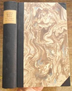 20,5 x 13 cm. Schwarzer Halbleinenband mit schwarzen Ecken und montiertem Rückenschild; neu gebunden. 640 Seiten. Papier schwankend braunfleckig. Sonst guter Zustand.