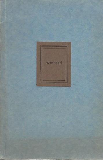 Bürmen, E. Sinnhaft. 1913 / 1935 0