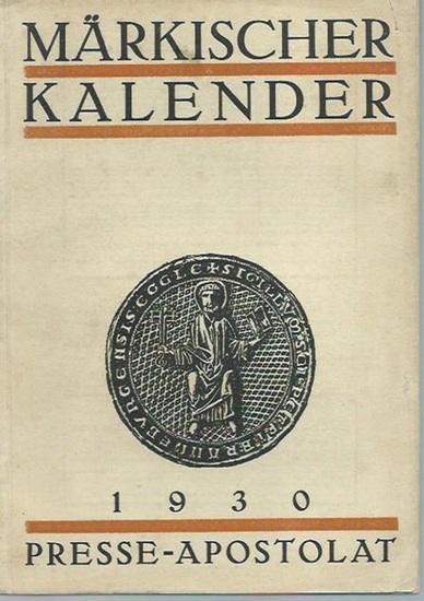Märkischer Kalender. - Märkischer Kalender 1930. 0