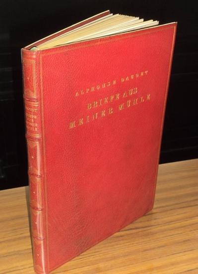 Wilkens, Hugo (1888 - 1955, Illustrationen) / Alphonse Daudet (1840 - 1897, Text): Briefe aus meiner Mühle (Lettres de mon moulin). Mit sechs Farbenradierungen von Hugo Wilkens. 0