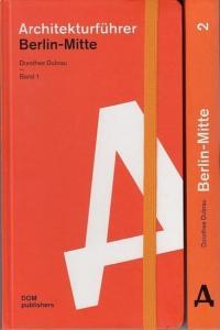Berlin Mitte.- Dubrau, Dorothee (Hrsg.): Architekturführer Berlin-Mitte Band 1 und 2. Kpl. in 2 Bdn.