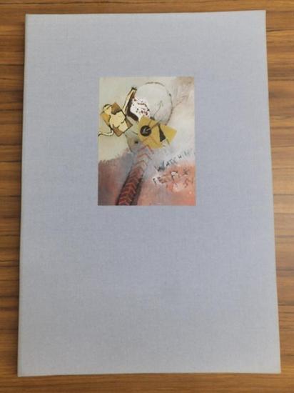 Carle, Pontus (Illustrationen). - Barck, Maximilian (Hrsg. Und Verfasser): Autistische Hieroglyphen. Mit sechs Lithographien von Pontus Carle. 0