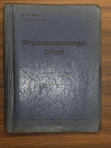 "Der Oberbefehlshaber der Luftwaffe (Herausgeber): L.Dv. 902a Flugzeugerkennungs-Tafeln Frankreich (Land). Inhalt: 1. Mureaux,,113, 115 und 117"" Aufklärer/ 2. Potez,,39"" Aufklärer/ 3. Breguet ,,27 - 3"" Aufklärer/ 4. Hanriot NC ,,510""..."