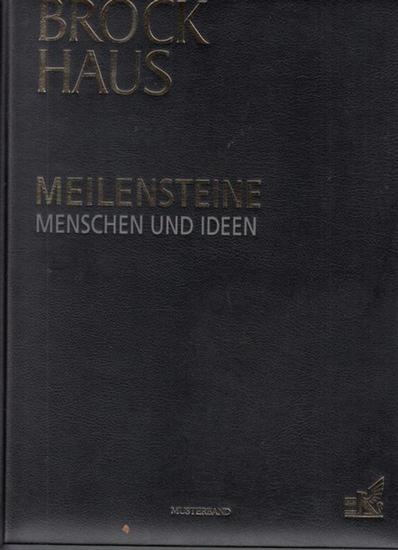 Brockhaus. - Schulz, Martin-Andreas Dr.: Brockhaus. Meilensteine. Menschen und Ideen.