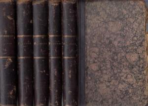 Gervinus, G.G. ( Georg Gottfried ): Geschichte der Deutschen Dichtung. Komplett in 5 Bänden.