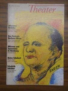 Hamburger Theater-Zeitung / GDS - Studio (Hrsg.) - Marilen Andrist u.a. (Red.): Theater - Hamburger Theaterzeitung. Nr. 6, Herbst 1986 (3. Jahrgang).
